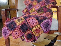 Bumble Berry Afghan