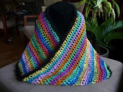 Psychedelic Mobius Cowl
