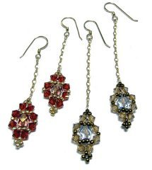 Jeweled Dangle Earrings