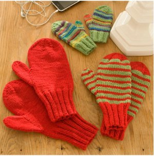 Mittens for the Whole Family