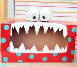 Silly Monster Valentine Box