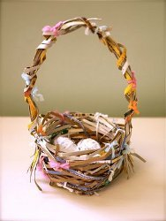 Cereal Box Easter Basket
