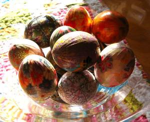 Amazing Washi Easter Eggs