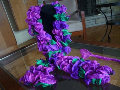 Twist and Twirl Scarf