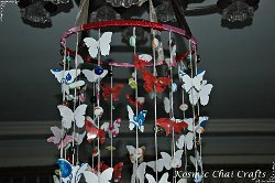 Bead and Butterfly Mobile