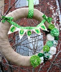 Happy Go Lucky Wreath