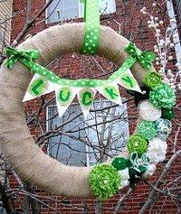 Happy Go Lucky Wreath