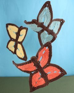 Flutter By Butterfly Dishcloth