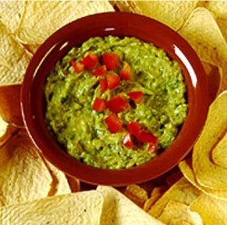 Green Chili Guacamole