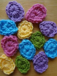 Sweet One Round Crochet Eggs