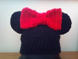 Mouse Hat with Bow