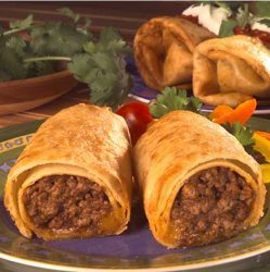 Easy Beef Chimichangas