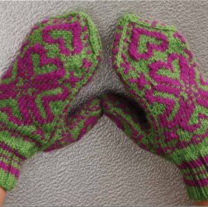 Wicked Knit Mittens
