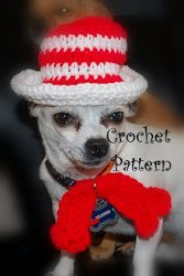 Cat in the Hat Crochet Pattern