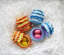 Really Ruffled Eggs