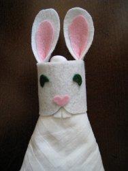 Bitty Bunny Napkin Rings