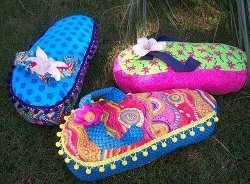 Flip Flop Pillows for Summer