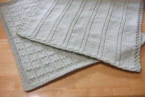 Simple Lines Baby Blankets