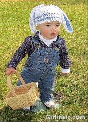 Crochet Bunny Hat