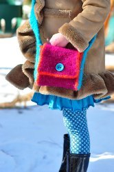 Girl's Felted Satchel