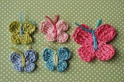 Baby Butterflies Crochet Pattern