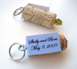 Quirky Cork Wedding Favors