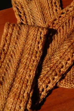 Golden Wheat Scarf