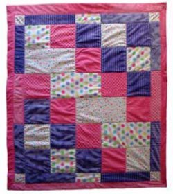 Baby Steps Cuddle Quilt