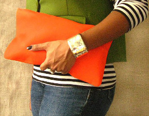 DIY Envelope Clutch
