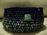 Decorative Crochet Bowl
