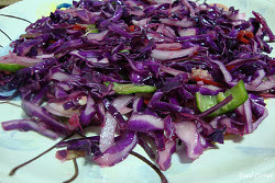 Purple Cabbage Salad