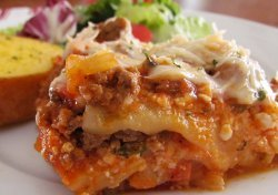 So Cheesy Lasagna