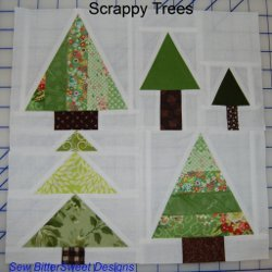 Scrappy Trees Block Pattern