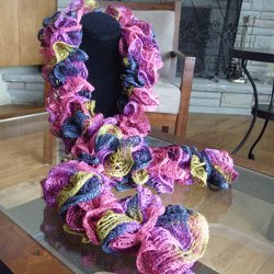 Sassy Sashay Frilly Scarves