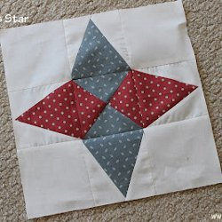 Arkansas Star Quilt Block