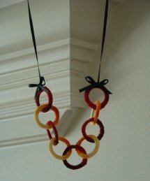 Loopty Loo Crochet Necklace