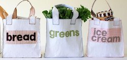 Doubly Green Grocery Totes