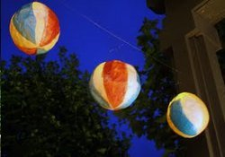 On the Fly Beach Ball Lanterns