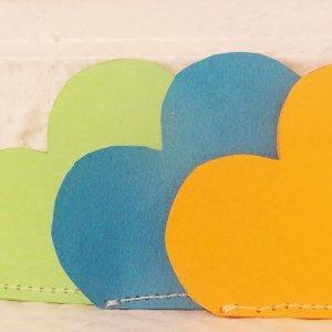Paper Heart Corner Bookmark