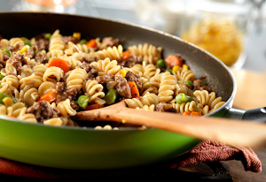 Skillet Beef & Vegetables