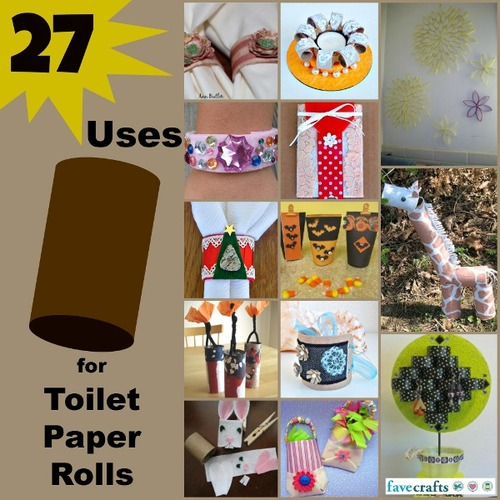 36 uses for toilet paper rolls for Things to make with toilet paper rolls