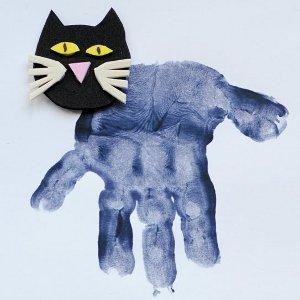 Handprint Black Cats