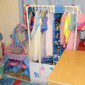 PVC Dress-Up Rack
