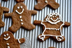 Cut Out Gingerbread Cookies
