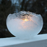 Ice Balloon Lanterns