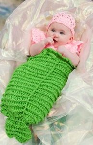 11 Crochet Baby Cocoon Patterns Free eBook