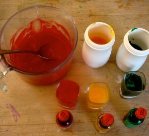 Homemade Finger Paints