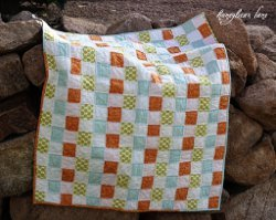 Raggedy Basketweave Quilt
