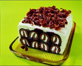 Tempting Black Forest Icebox Cake