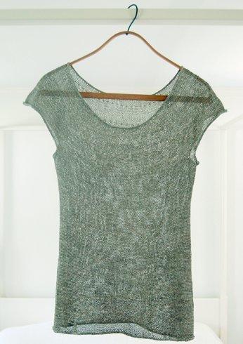 Silken Straw Summer Sweater